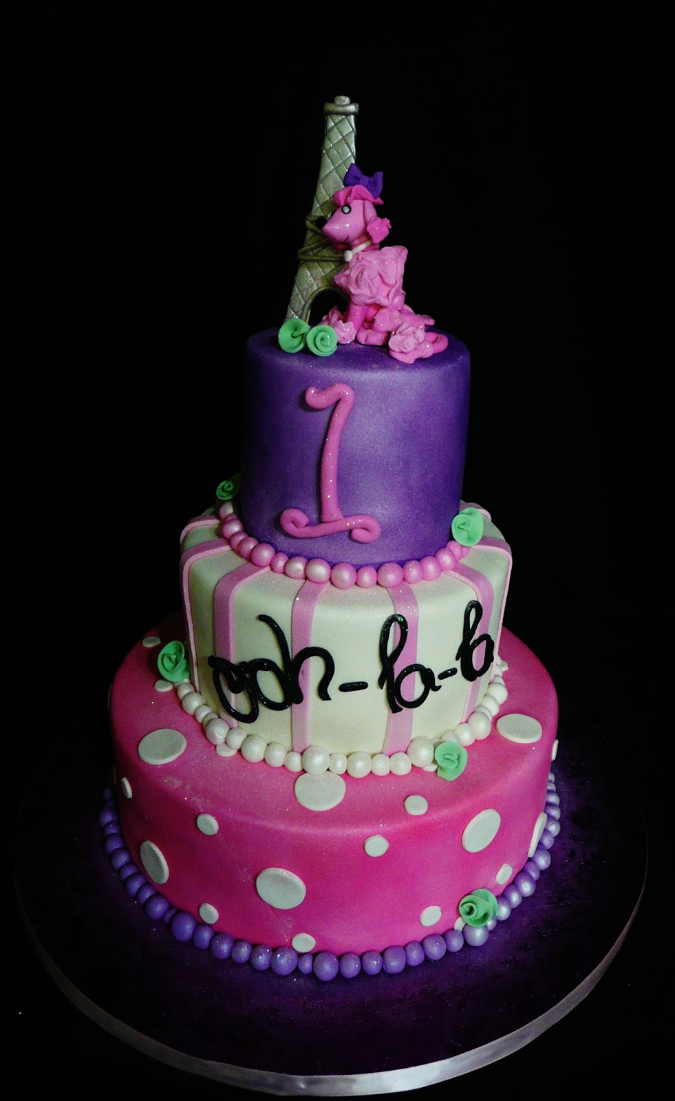 I Need Ideas For Decorating My Living Room: Baking With Roxana's Cakes: Pink Poodle In Paris Themed Cake