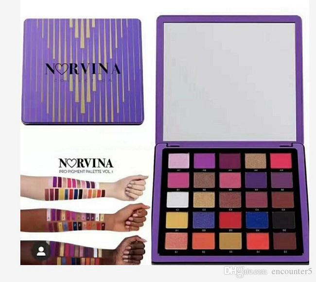 ANASTASIA BEVERLY HILLS - Norvina Pro Pigment Palette Vol.1 - Paleta de sombras de ojos