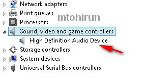 komputer tidak ada suara