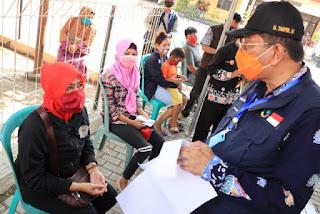 Plt Bupati Indramayu Pantau Langsung Dan  Pastikan Tidak Ada Pungli Dalam Penyaluran Sembako