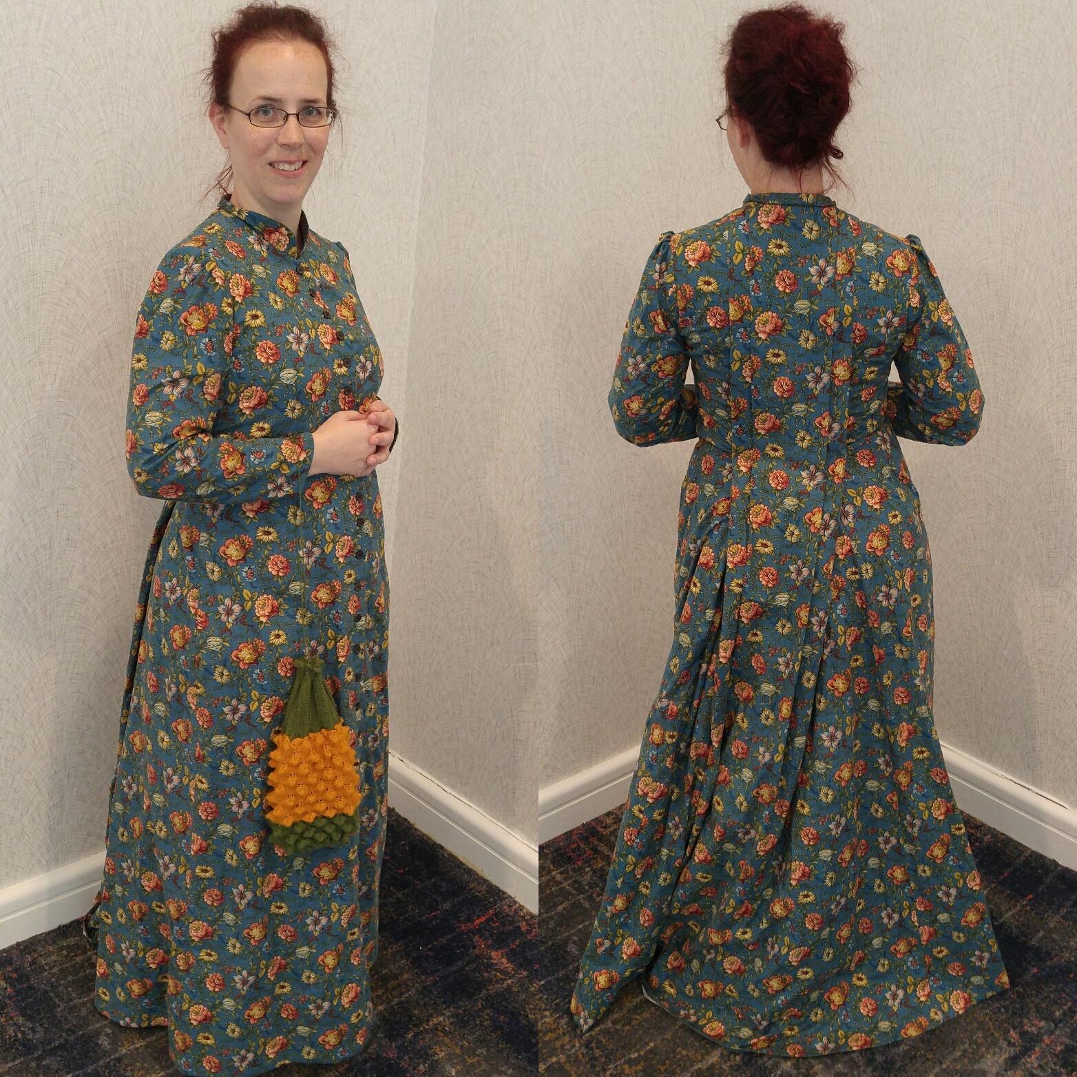 Adventures in Bias Tape: Victorian Tea Gown (1882)