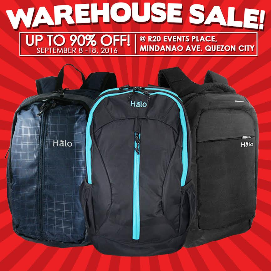 71fdbea03b Check out Halo Warehouse SALE happening on September 8-18