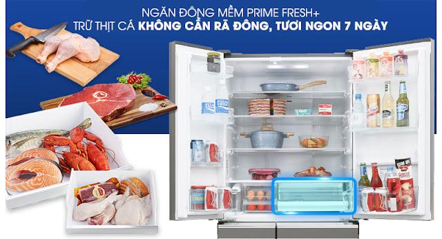 Tủ lạnh Panasonic Inverter 491 lít NR-F503GT-T2
