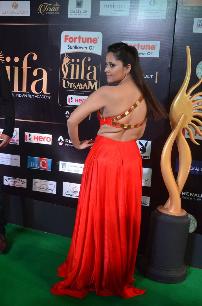 Anasuya Hot Photos At Iifa Utsavam Awards 2017  Indian -1330