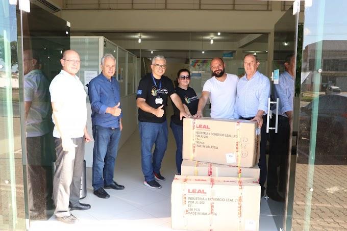 GM faz doações ao Comitê de Enfrentamento do Coronavírus de Gravataí