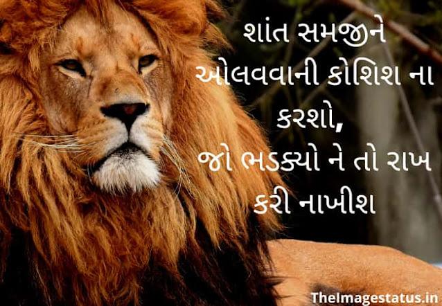 Best Attitude Status in Gujarati