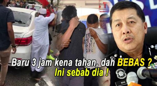 DAH AGAK DAH ! Rupanya Ini Punca Suspek Yg Hon Depan Masjid DIBEBASKAN Polis Padahal Baru 3 Jam Kena Tahan !