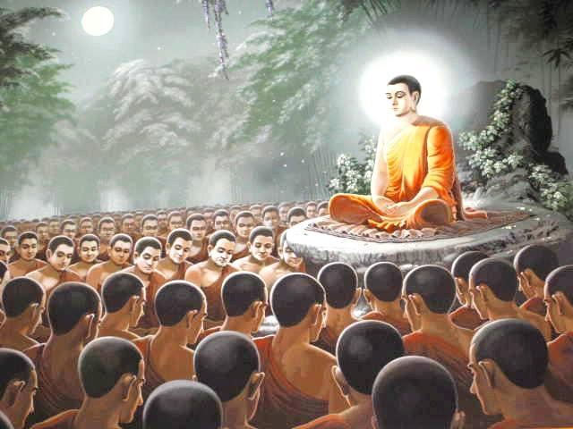 Đạo Phật Nguyên Thủy - Kinh Tương Ưng Bộ - Trăng Rằm