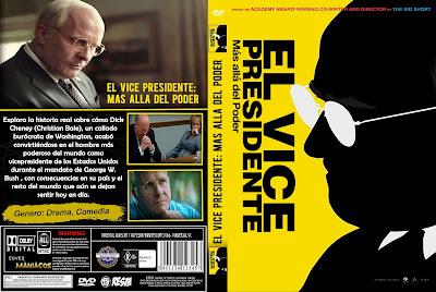 CARATULA EL VICE PRESIDENTE: MAS ALLA DEL PODER - VICE - 2018 [COVER DVD]