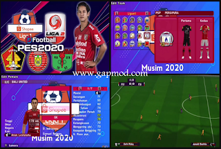 PES 2020 Jogress PPSSPP V3.5 Update Transfer 2020 Liga 1 Indonesia