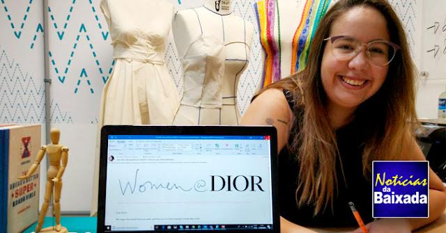 Alunas da Firjan SENAI são selecionadas para mentoria internacional da marca de moda Dior