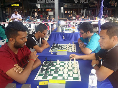 Gambar-gambar suasana dan keputusan Pertandingan Catur di Mydin Mall Bukit Mertajam