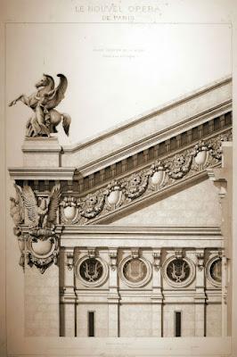 Detalle de fachada 2 Ópera Garnier