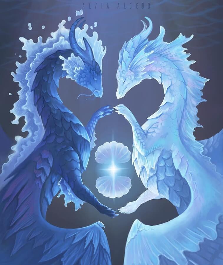 04-Dragon-Tarot-Project-Alvia-Alcedo-www-designstack-co
