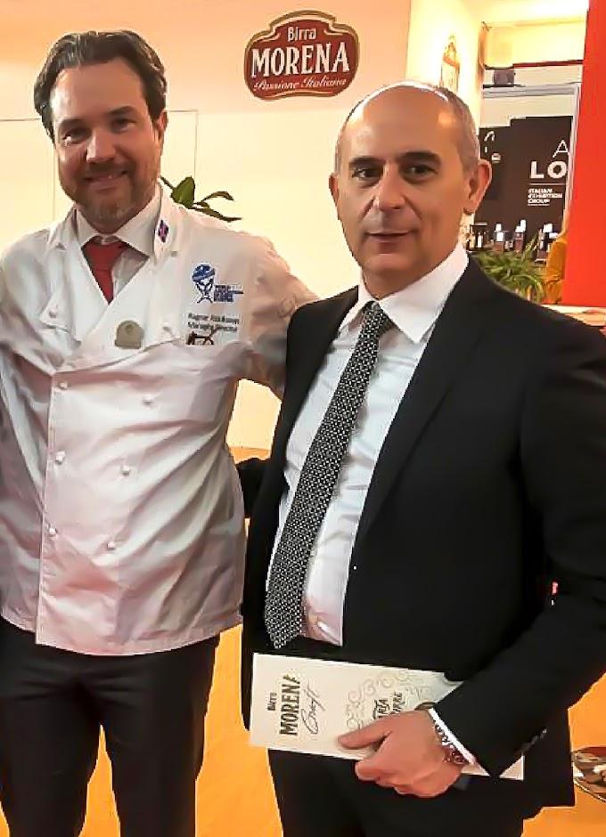 Storico accordo tra Birra Morena e l'Associazione Mondiale delle Società di Chef