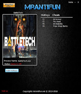 Download BattleTech Digital Deluxe Edition Trainer