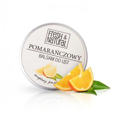Fresh & Natural pomarańczowy balsam do ust