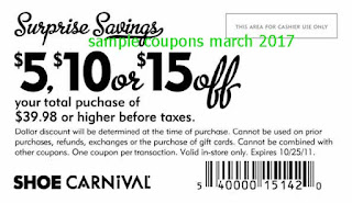 Shoe Carnival coupons march 2017