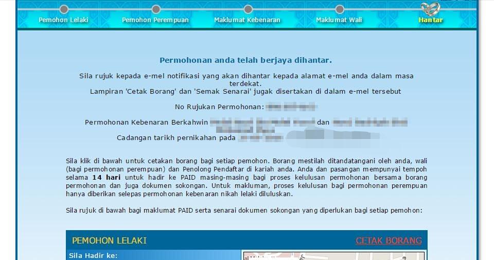 Panduan Permohonan Kebenaran Berkahwin Pahang Kedah Ieyra Com