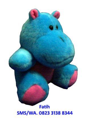 Mainan Anak Boneka Baby Animal Hippo