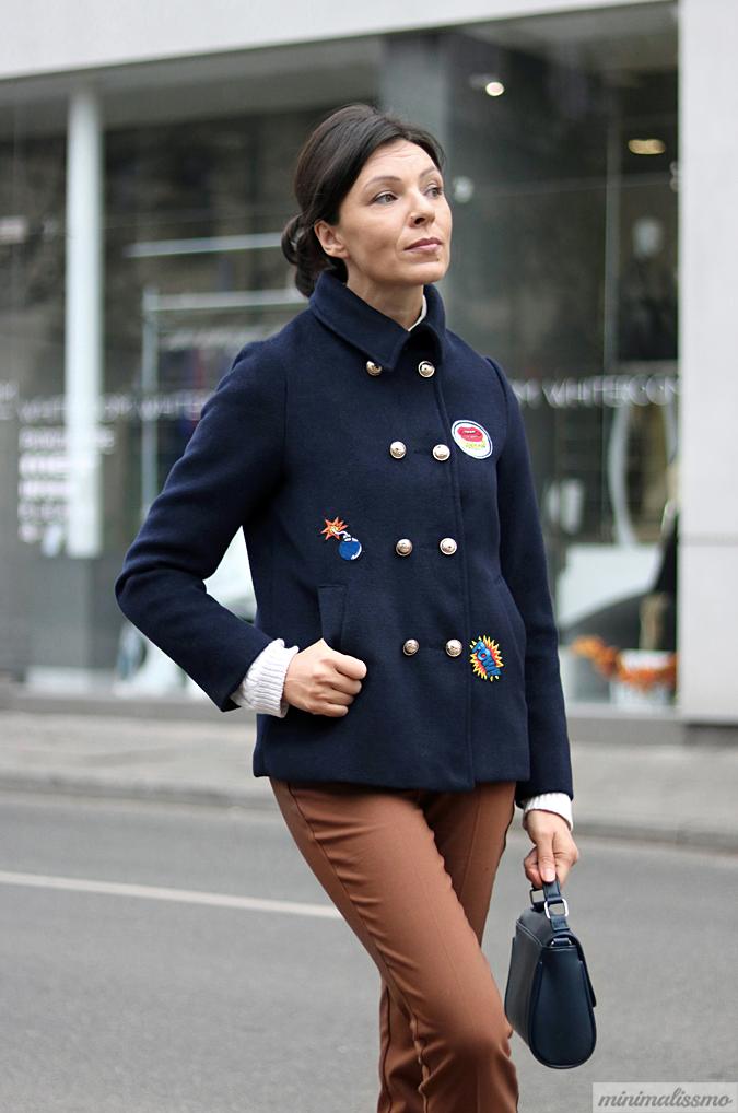 naszywki na kurtkę