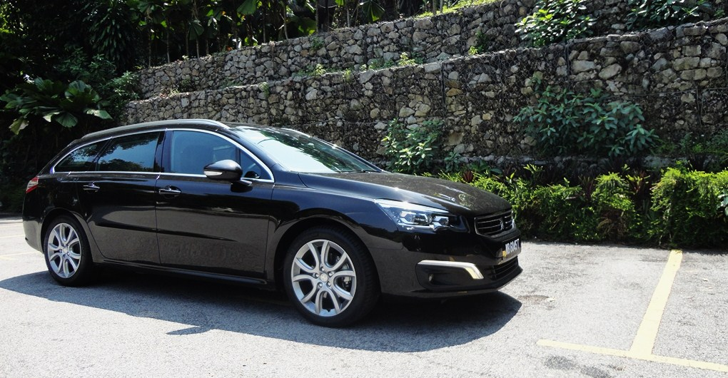 Motoring Malaysia Test Drive The 20152016 Peugeot 508sw Thp