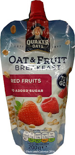 Quaker Oats Oat & fruit to go Red Fruits
