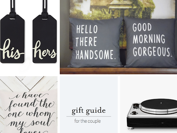 Gift Guide: For Couples