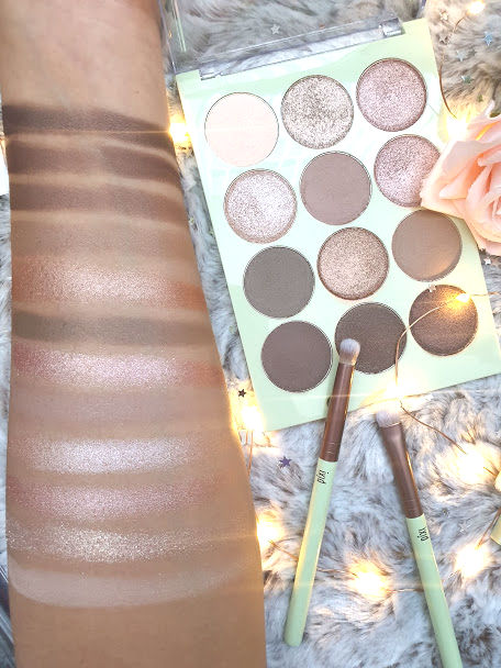 pixi natural beauty palette swatches