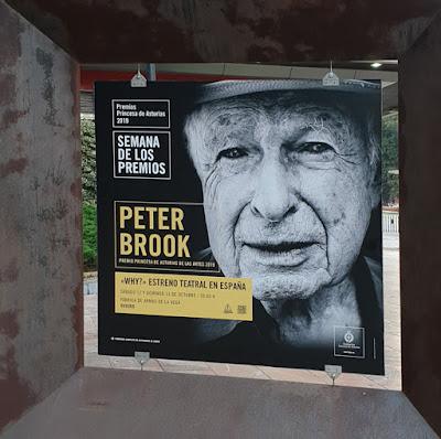 Oviedo. Premios Princesa de Asturias, Arte: Peter Brook