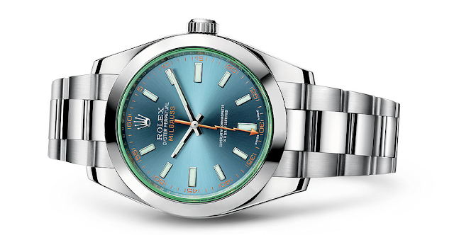 Photo of Rolex Milgauss with D-Blue Dial