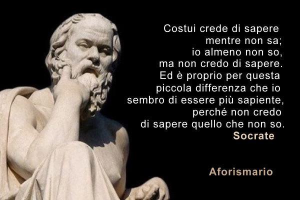Aforismario Aforismi Frasi E Citazioni Di Socrate