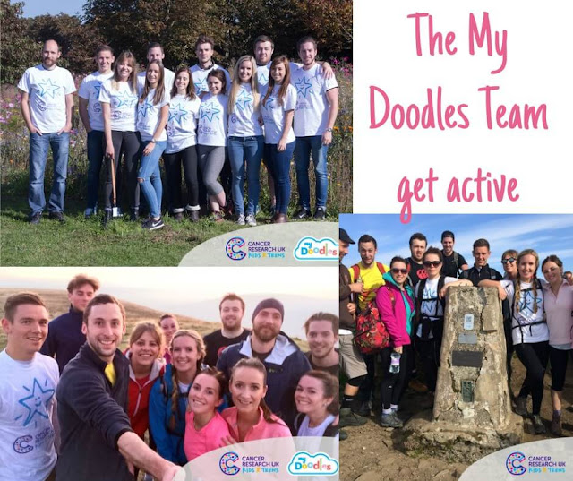 my-doodles-team-fundraising-cancer-research-uk