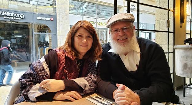 Nechama and Yeruchem Eilfort in Jerusalem