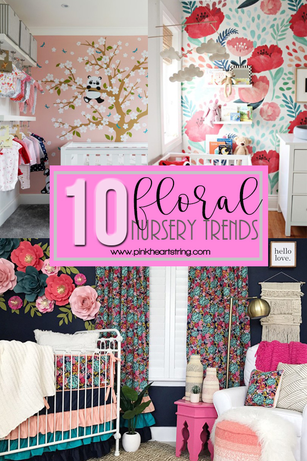 Top 10 Floral Nursery Trends for 2018