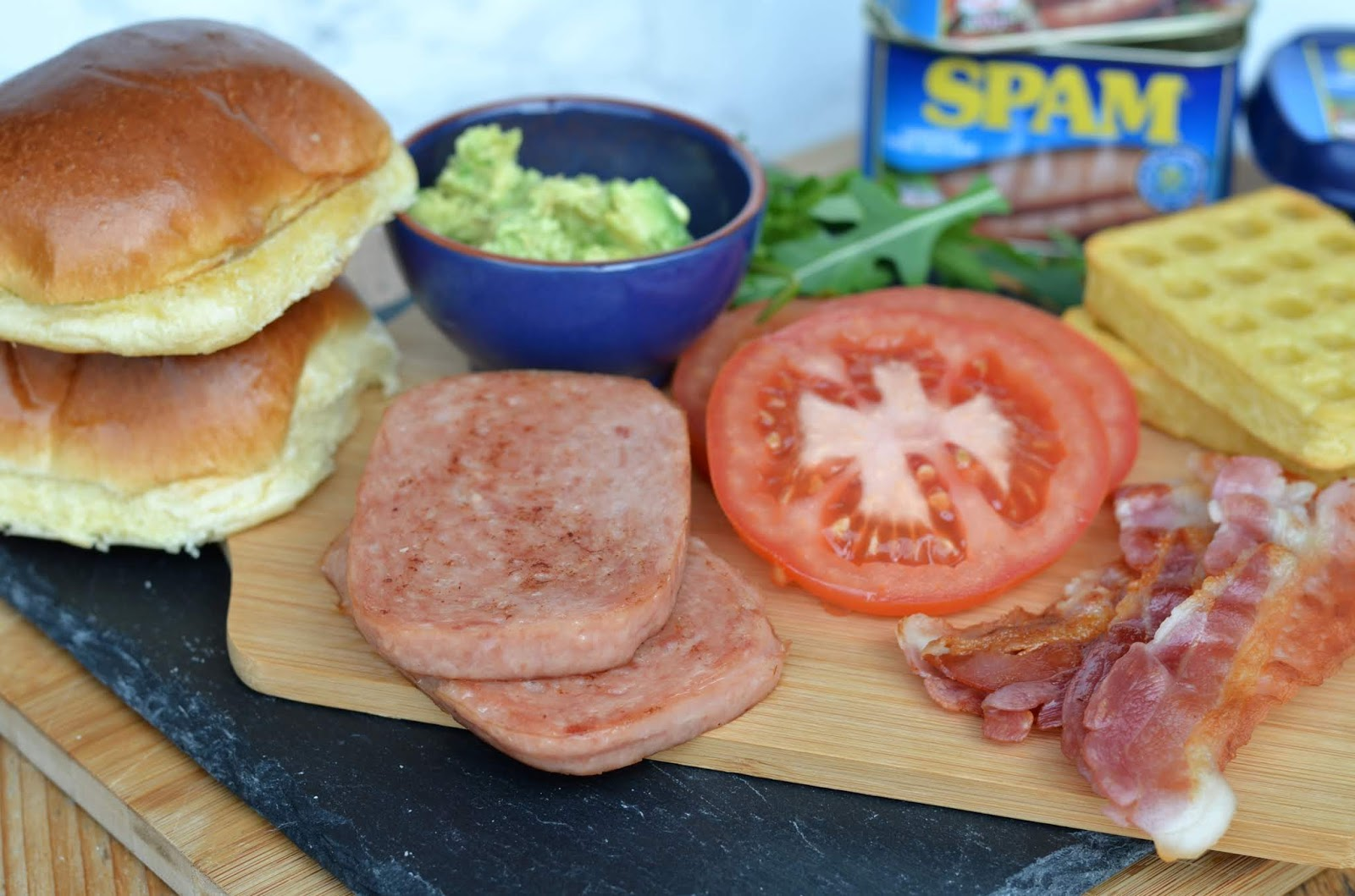 Breakfast SPAM®️ Burger
