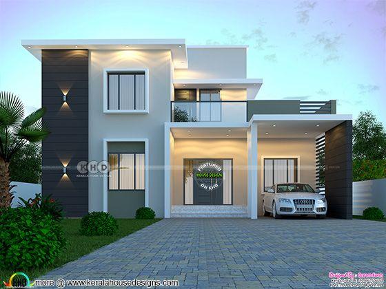1895 sq. ft. modern home design