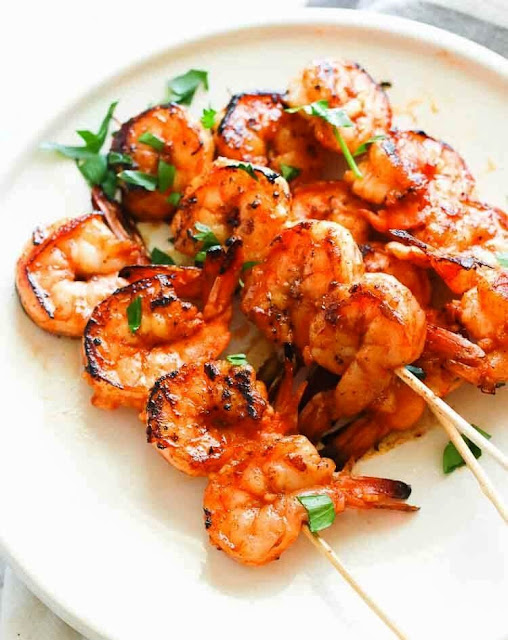 Marinated Grilled Shrimp - 4