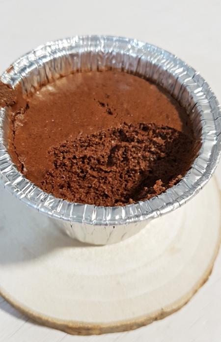 receta facil de mousse de chocolate saludable