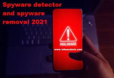 Spyware detector and spyware removal on Android and iPhone