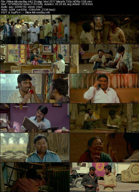 Zindagi Virat 2017 Marathi 720p HDRip 1GB