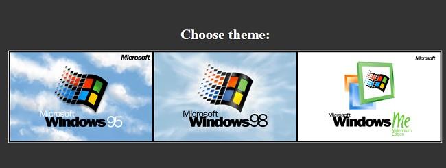 محاكاة نظام ويندوز 95 ، 98 ، ME وتشغيل البرامج والألعاب القديمة علي متصفحك