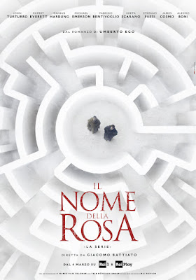 The Name Of The Rose 2019 Miniseries Poster 1