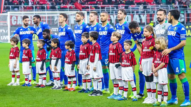 Jadwal Skuad Sassuolo 2020