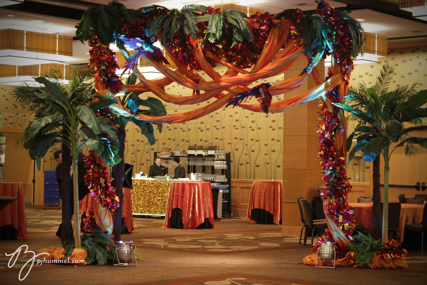 Caribbean Party Tips Theme Parties N More: Pj Hummel And Company, Inc: Four Corners