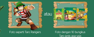 Lomba Foto Tantangan Taro Rangers Untuk Mengikuti Taro Rangers Camp 2016