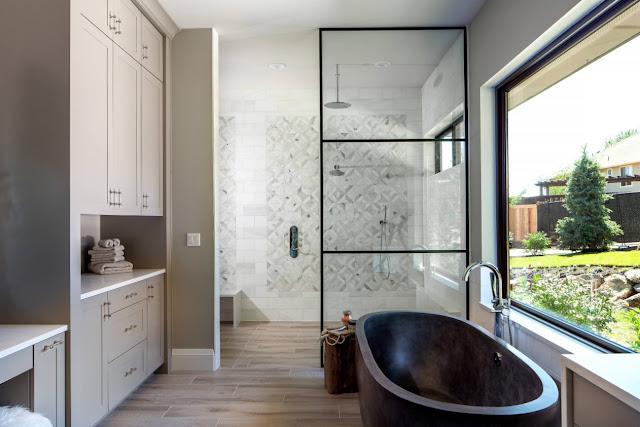 bathroom design ideas with walk in shower