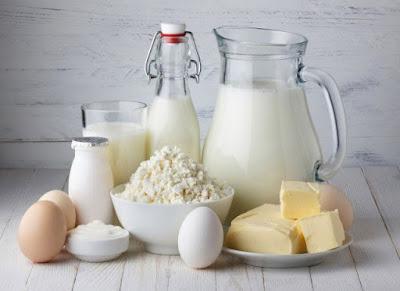 Tipos productos lácteos