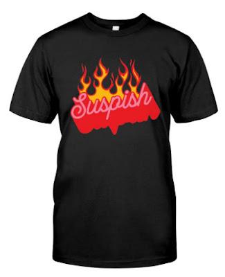 Bailey Sarian merch Suspish Flame T Shirts Hoodie Sweatshirt Tank Top. GET IT HERE