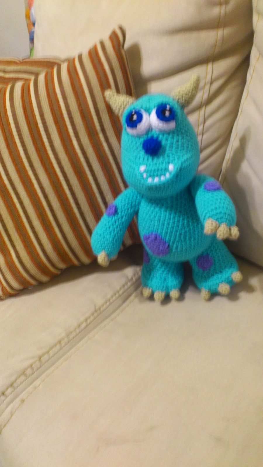Musings Of An Average Mom Free Monsters Inc Crochet Patterns